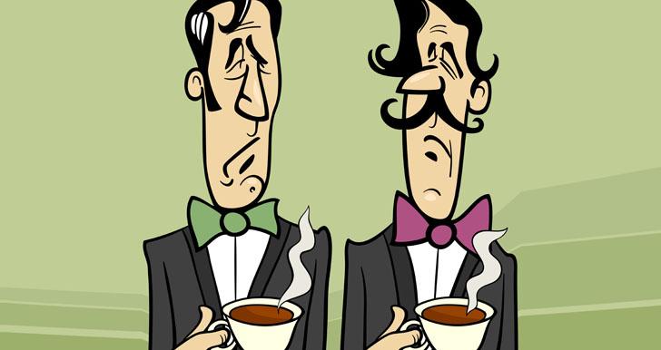 Snobby Tea Drinkers