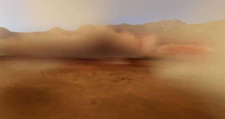 Outback Desert Sandstorm