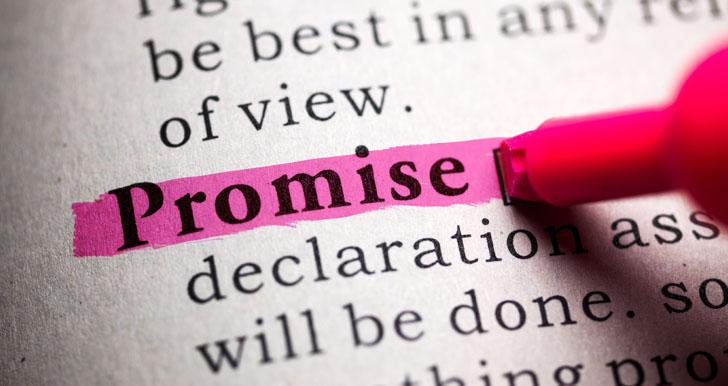 Bọ Cạp tin tưởng vào lời nói và những lời hứa hẹn