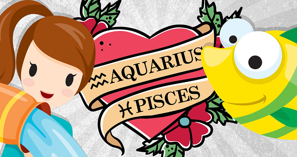 Aquarius and Pisces Compatibility: Love, Sex & Relationships