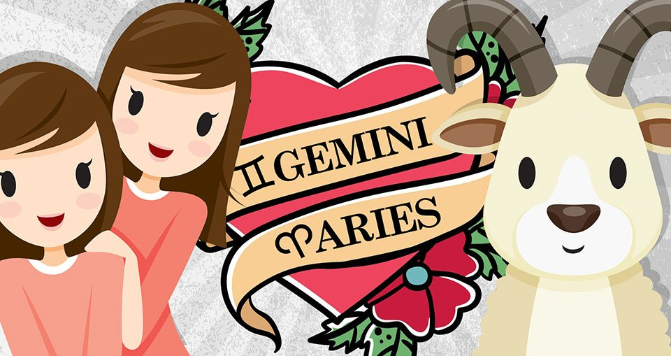 Aries and Gemini Compatibility: Love, Sex & Relationships